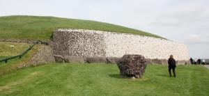 The main mound at Newgrange.